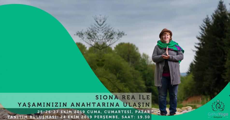 Siona Rea ile Yaşamınızın Anahtarına Ulaşın Siona Rea