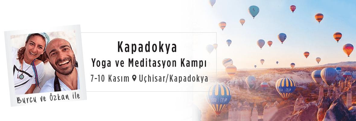 Burcu ve Özkan ile Kapadokya Yoga ve Meditasyon Kampı Özkan Dokuz