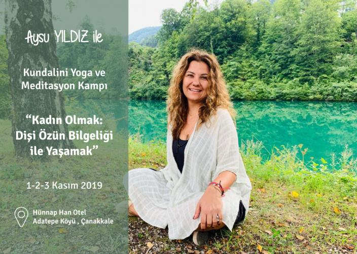 Aysu Yıldız ile Kundalini Yoga ve Meditasyon Kampı Aysu Yıldız (Navnih