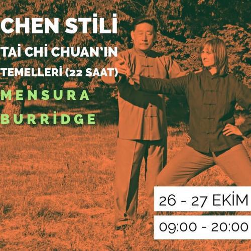 Usta Mensura Burridge ile Chen Stili Tai Chi Chuan'ın Temelleri (22 Saat)