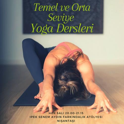 Temel ve Orta Seviye Yoga Dersleri-Nişantaşı