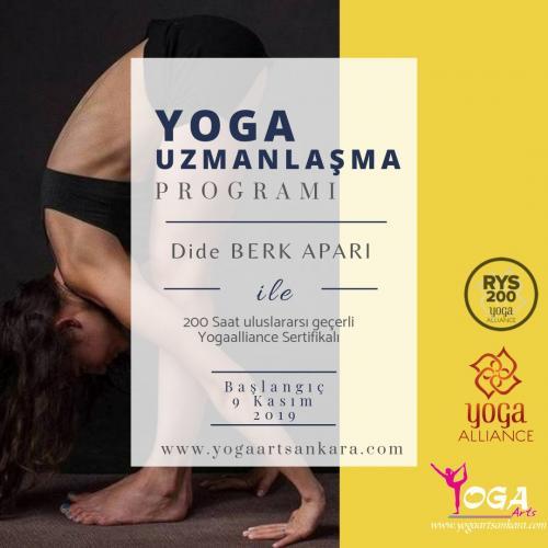 Ankara 200 Saat Yoga Uzmanlaşma Programı