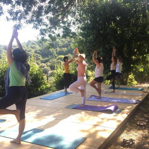 Hande ile Yoga