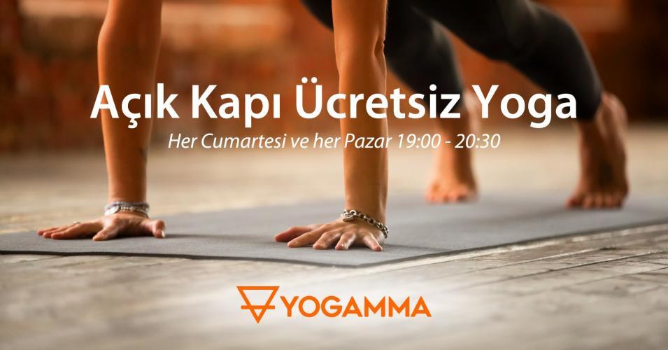 Açık Kapı Ücretsiz Yoga Seansları