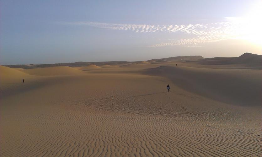 Büyüleyici Sahra Çölü'nde Meditasyon ve Şifa İnzivası