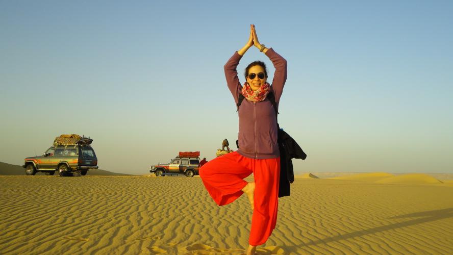 Sahra Çölü'nde Meditasyon ve Şifa İnzivası