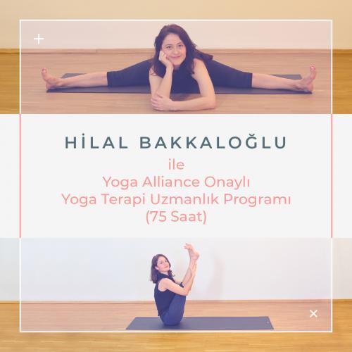 Hilal Bakkaloğlu ileYoga Terapi Uzmanlaşma Programı