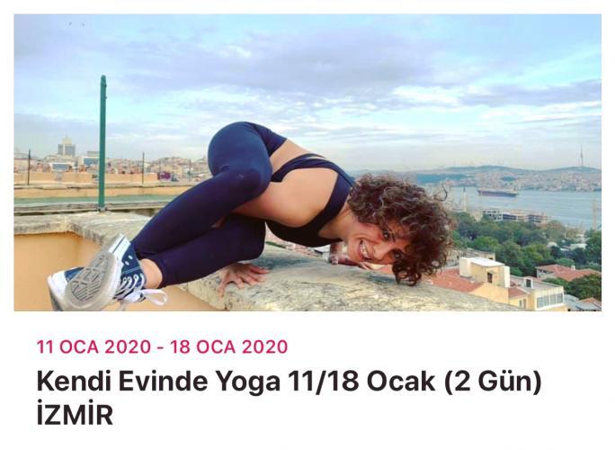 Kendi Evinde Yoga Mehtap Yıldız