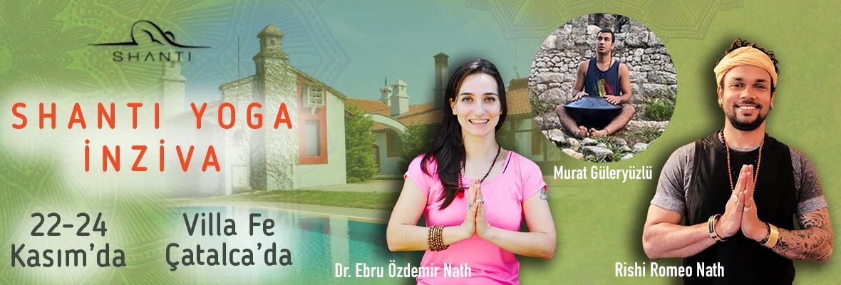 Dr. Ebru Özdemir Nath & Rishi Romeo Nath ile Shanti Yoga Kampı Ebru Öz