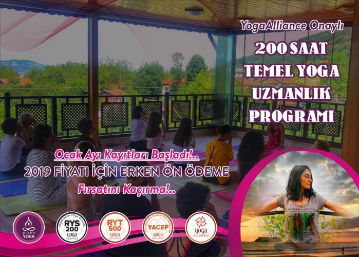 Nejla Ceylan Özveren ile 200 saat Yoga Uzmanlık