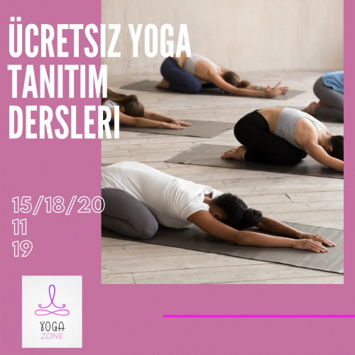 Ücretsiz Yoga Tanıtım Dersleri