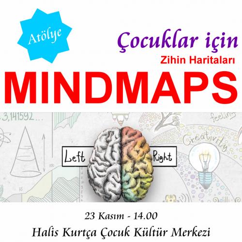 Çocuklar İçin Zihin Haritaları/ Mindmaps (Ücretsiz)