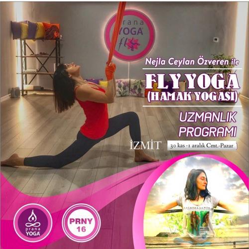 Nejla Ceylan Özveren ile Hamak Yoga Uzmanlık Nejla Ceylan Özveren