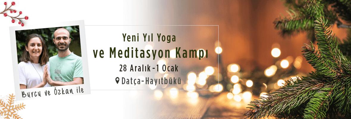 Yılbaşı Yoga ve Meditasyon Kampı- Burcu ft Özkan