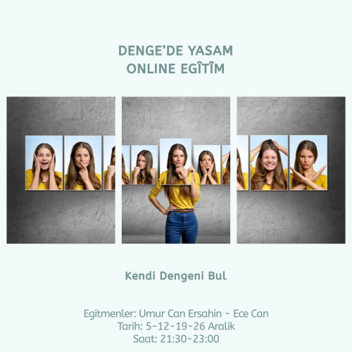 Dengede Yaşam Online Eğitim
