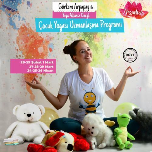 Çocuk Yogası Uzmanlaşma Programı - Antalya (95 SAAT) Görkem Arpapay
