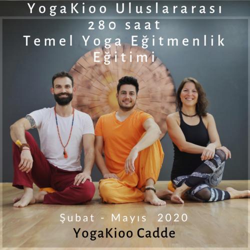 YogaKioo 280 saat Uluslararası Temel Yoga Eğitmenlik Eğitimi