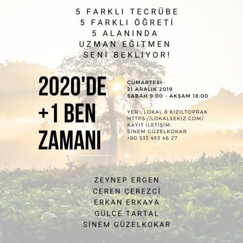 2020'de +1 Ben Zamanı