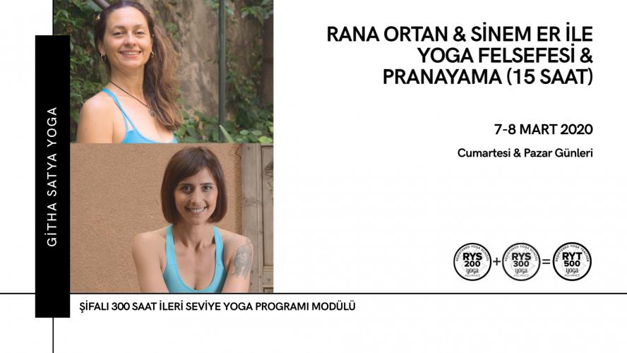Rana Ortan & Sinem Er ile Yoga Felsefesi & Pranayama