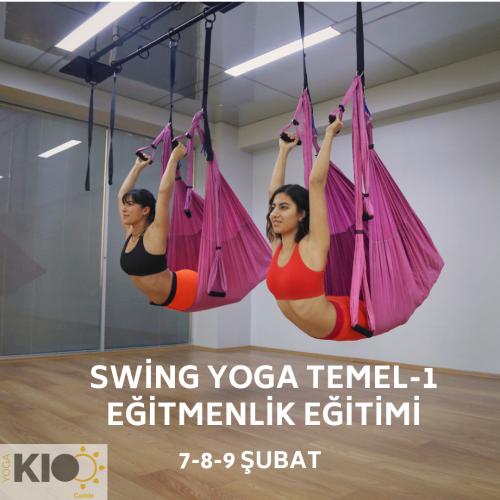Swing Yoga Temel-1 Eğitmenlik Eğitimi