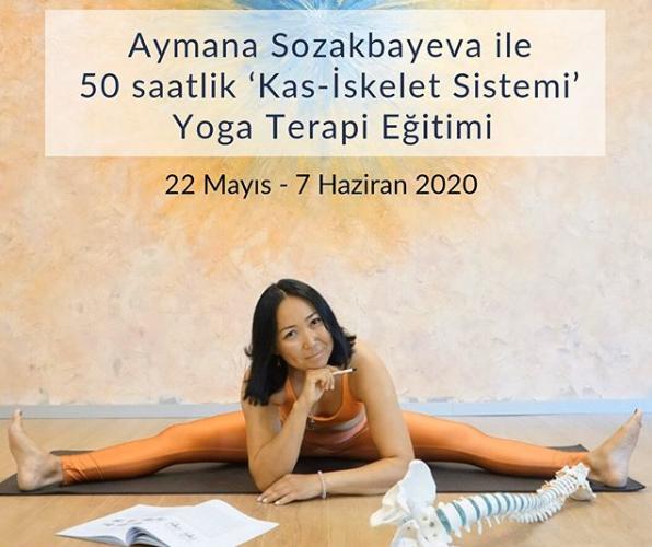 50 saat Kas İskelet Sistemi Yoga Terapi Eğitimi