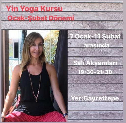 Berna Ünlü ile Yin Yoga kursu