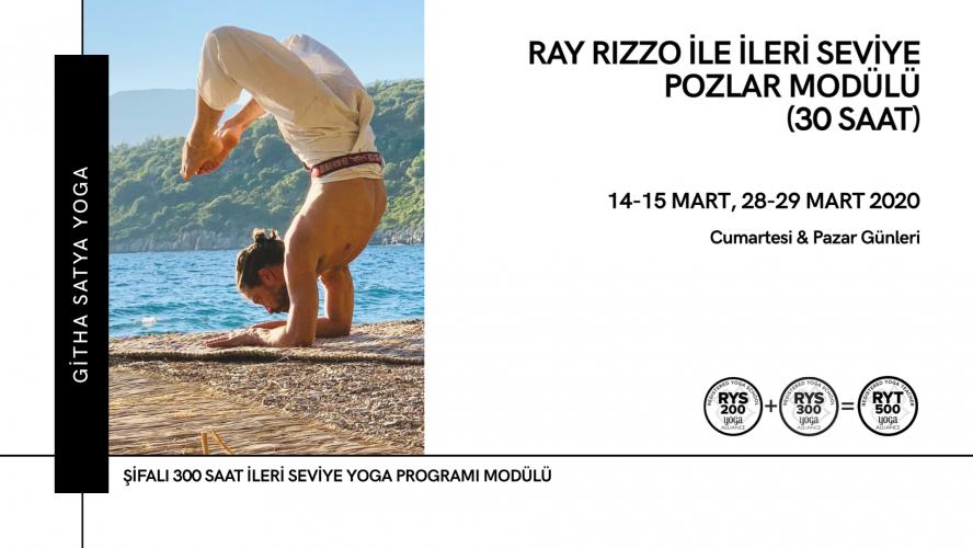 Ray Rizzo ile İleri Seviye Pozlar Modülü Ray Rizzo