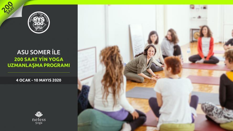 Asu Somer ile 200 Saat Yin Yoga Uzmanlaşma Programı