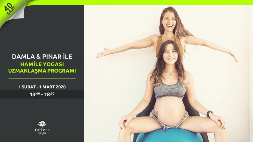 Damla & Pınar ile Hamile Yogası Uzmanlaşma Programı