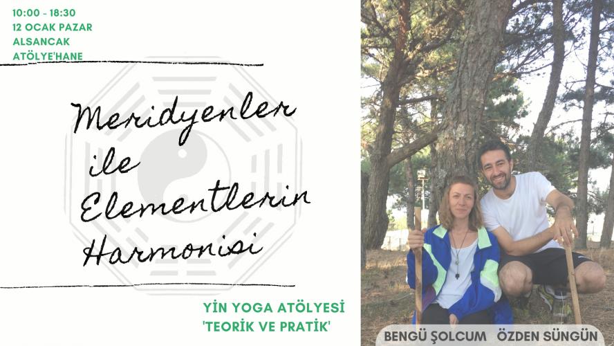 'Meridyenler ile Elementlerin Harmonisi' Yin Yoga Atölyesi