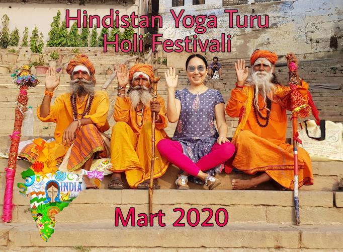 Hindistan Yoga Turu Holi Festivali Ayman Sozakbayeva