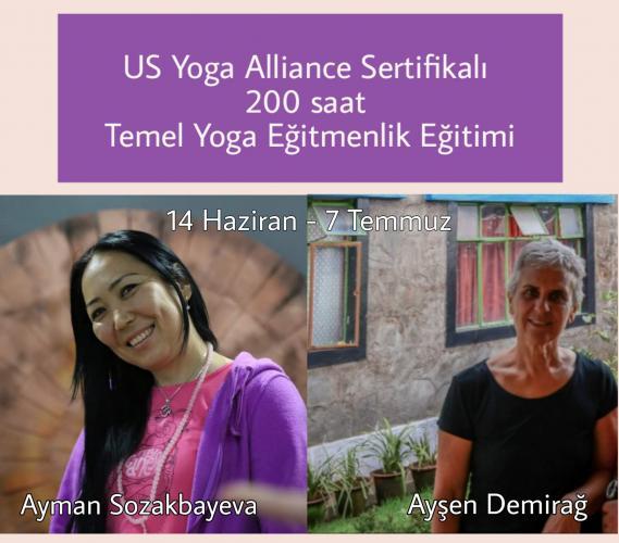 US Yoga Alliance Sertifikalı 200 Saat Temel Yoga Eğitimi