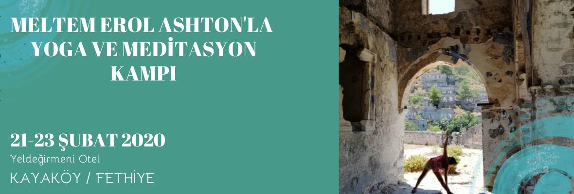 Meltem Erol Ashton'la Yoga Ve Meditasyon Kampı Meltem Erol Ashton