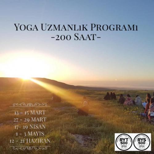 Yoga Uzmanlık Programı (200 Saat)/ İlkbahar Dönemi