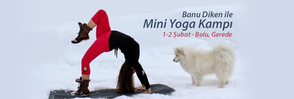 Banu Diken ile Mini Yoga Kampı