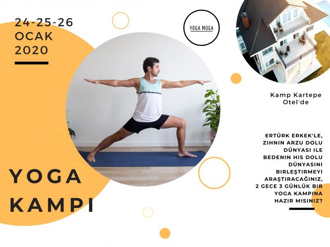 Yoga Moga Yoga Kampı Ertürk Erkek