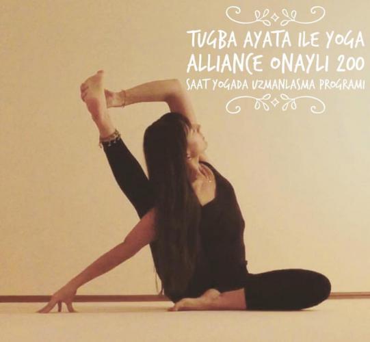 Tuğba Ayata ile 200 saat Yoga Alliance onaylı Yogada Uzmanlaşma Programı