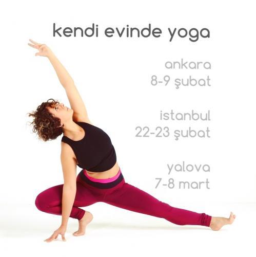 Kendi Evinde Yoga