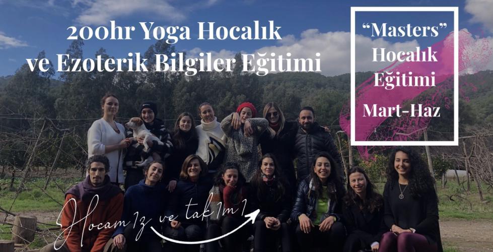 """""""Masters Eğitimi"""" 200 Saatlik Yoga Hocalık ve Ezoterik Bilgiler Eğitimi"""