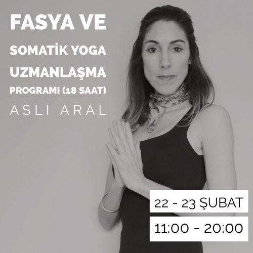 Fasya ve Somatik Yoga Uzmanlaşma Programı (18 Saat)