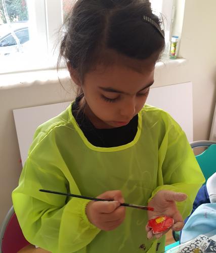 Çocuklar için Masal Sanat Atölyesi (2-5 yaş)
