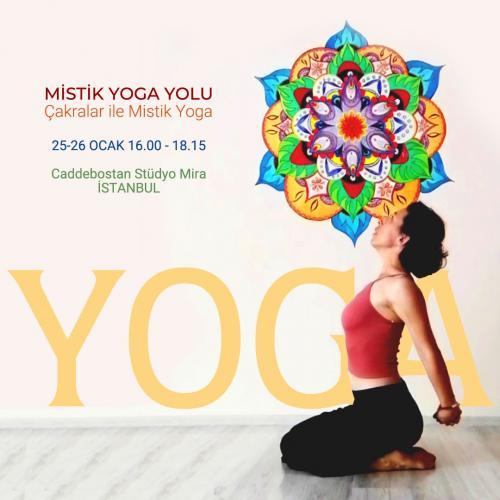 Mistik Yoga Yolu-Çakralar ile Mistik Yoga