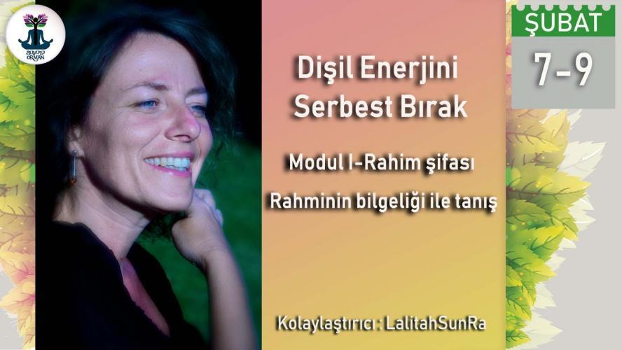 Danimarkalı Hoca Lalitah ile Dişil Enerjini Serbest Bırak