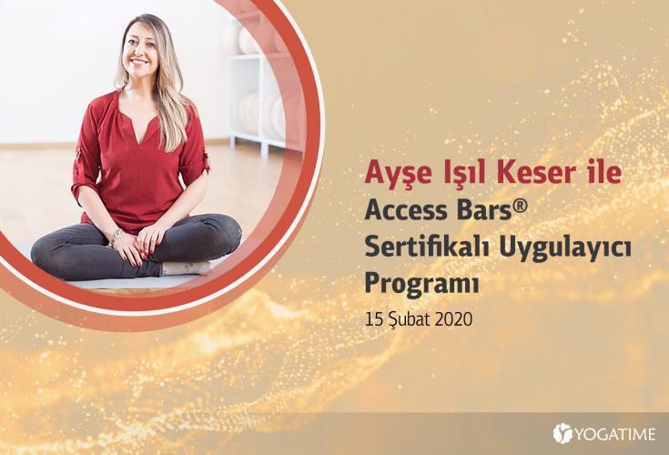 Ayşe Işıl Keser ile Access Bars® Sertifikalı Uygulayıcı Programı Ayşe