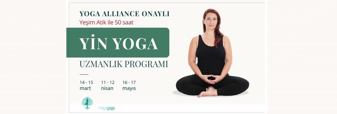 Yeşim Atik ile 50 saat Yin Yoga Uzmanlık Programı Yeşim Atik