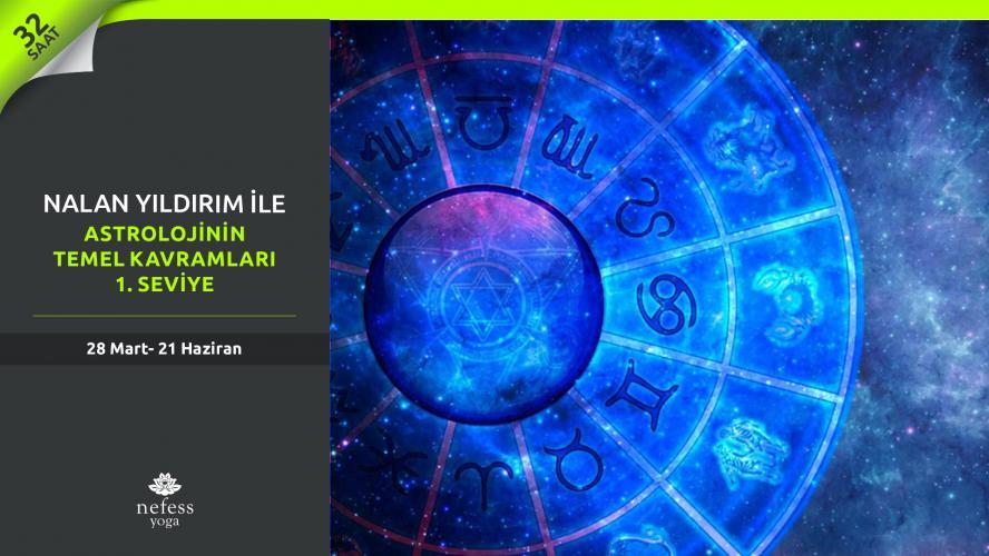 Nalan Yıldırım ile Astrolojinin Temel Kavramları - 1. Seviye