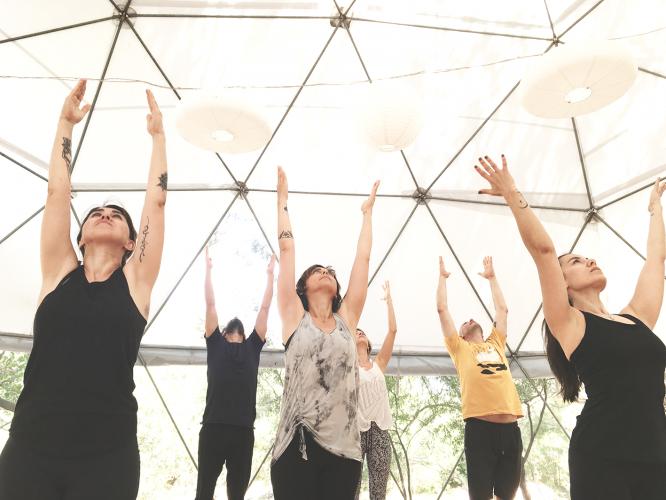 Hızır Kamp'ta Yaza Erken Merhaba Yoga ve Meditasyon Kampı Sinem Er
