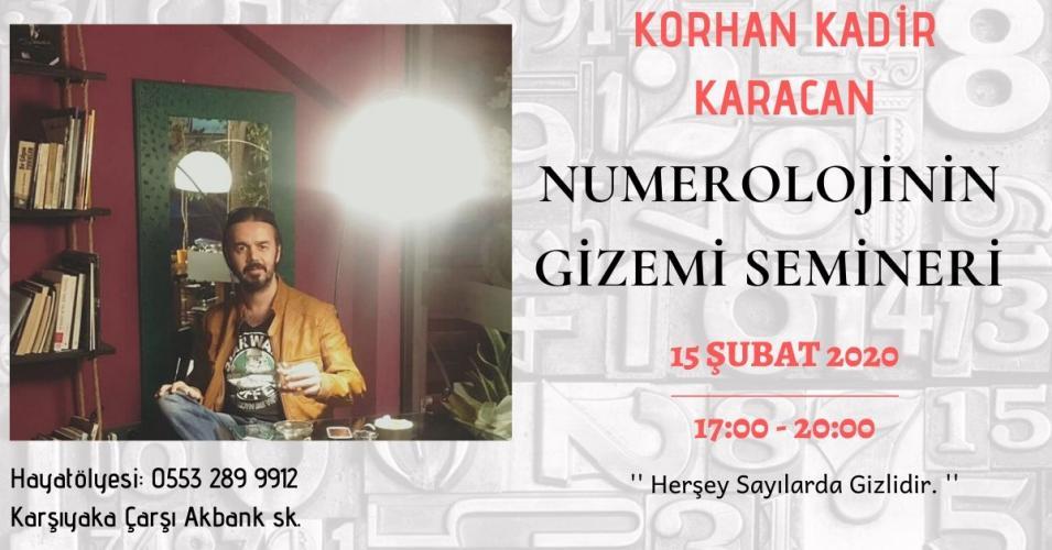 Numeroloji'nin Gizemi Korhan Kadir Karacan