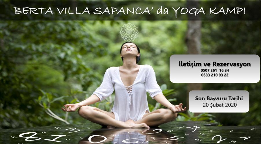 Bella Villa Sapanca'da Yoga Kampı