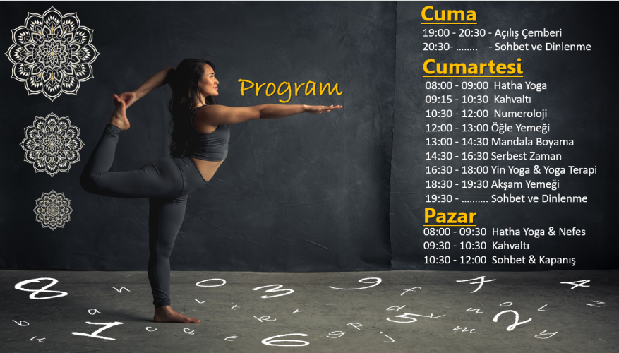 Bella Villa Sapanca'da Yoga Kampı Buse Aynuru